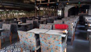 Restoran ve kafeler için gözler kabine toplantısında