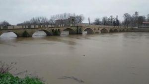 Tunca Nehri için 'sarı alarm'