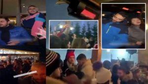 Uludağ'da şaşırtan corona partisi