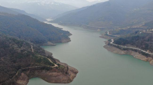 Yuvacık Barajı'nda su seviyesi yüzde 52'ye yükseldi
