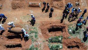 Brezilya'da 24 saatte 3 bin 808 kişi hayatını kaybetti