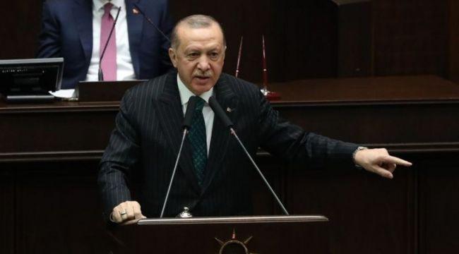 Cumhurbaşkanı Erdoğan, grup toplantısında açıklama yapıyor