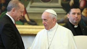 Cumhurbaşkanı Erdoğan, Papa ile görüştü