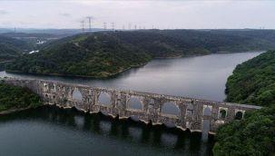 İstanbul'un barajlarındaki doluluk oranı yüzde 76,84 seviyesinde
