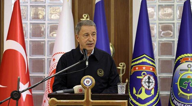 Bakan Akar duyurdu: 352 terörist etkisiz hale getirildi