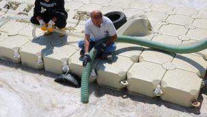 Çanakkale Boğazı'nda 1 haftada 198 metreküp müsilaj toplandı