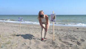 Carettalar, Mersin sahillerine yumurta bırakmaya başladı