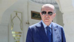 Cumhurbaşkanı Erdoğan'dan A Milli Futbol Takımı'na destek