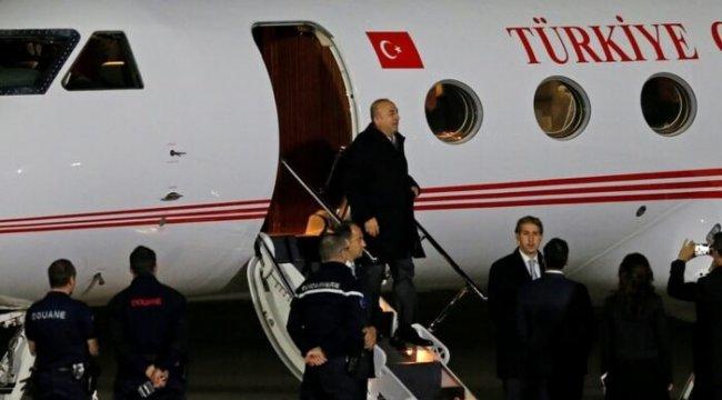 Dışişleri Bakanı Çavuşoğlu Fransa'da