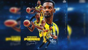 Dyshawn Pierre, 3 yıl daha Fenerbahçe'de