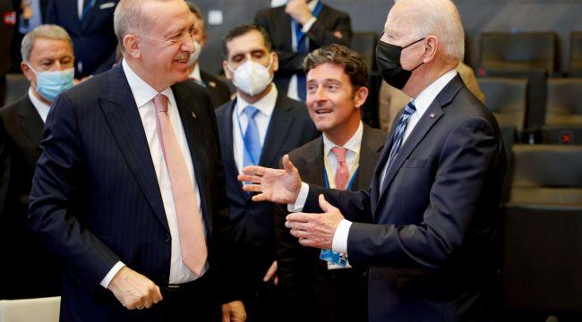 Erdoğan-Biden zirvesinden ilk kareler