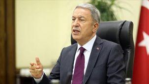 Milli Savunma Bakanı Akar: Türkiye Libya'da yabancı güç değildir