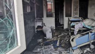 Rusya'da pandemi hastanesinde yangın