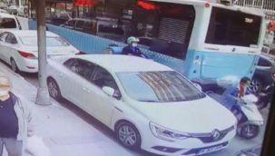 Şişli'de motosiklet hırsızlığı