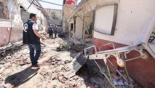 TSK hastane vuran PKK'yı ateş altına aldı