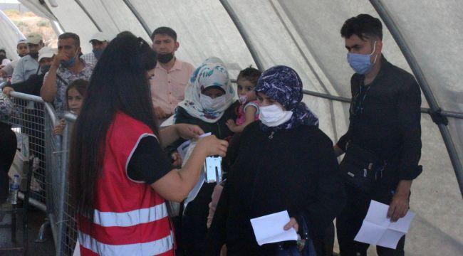 21 bin 500 Suriyeli bayram için ülkesine gitti