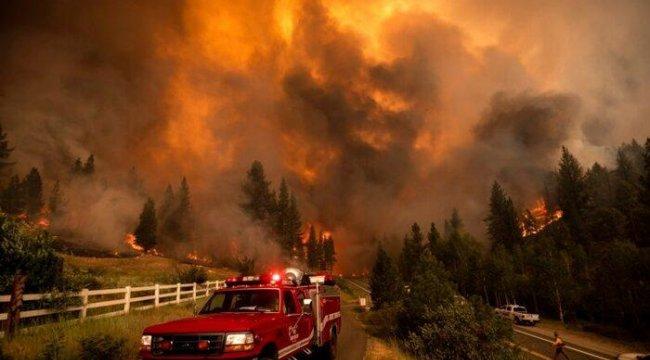ABD'nin Batısındaki Yangınların Dumanı Doğuya Ulaştı