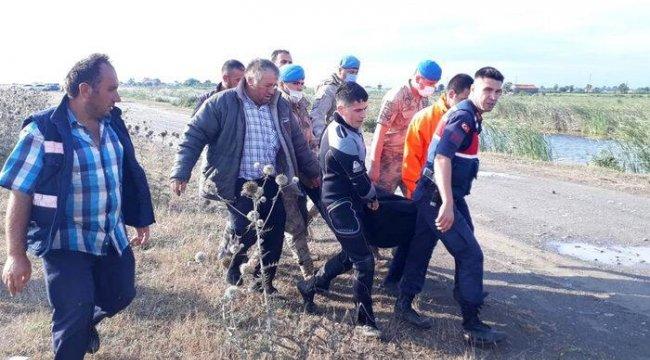 Bafra'da denizde kaybolan gençten acı haber geldi