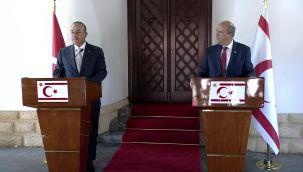 Bakan Çavuşoğlu KKTC'de
