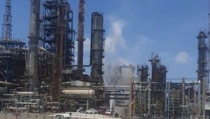 İsrail'de petrol rafinerisi patladı