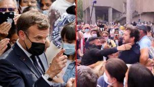 Macron'a, 'Sen bir ateistsin' tepkisi