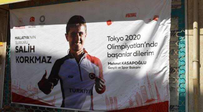 Malatyalı atlet Türkiye'yi temsil edecek