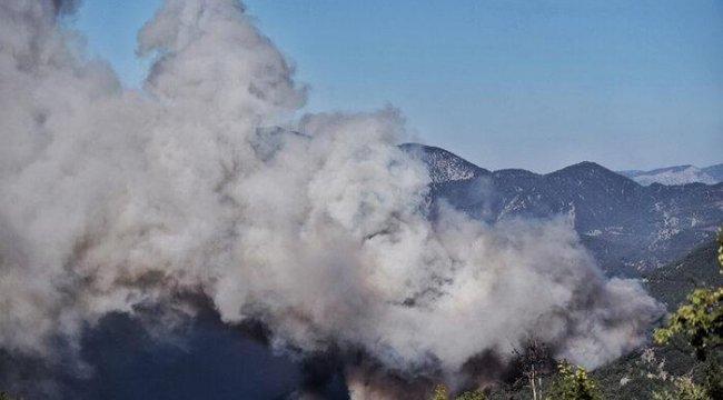 Mersin ve Hatay'daki yangın 3 gündür söndürülemiyor