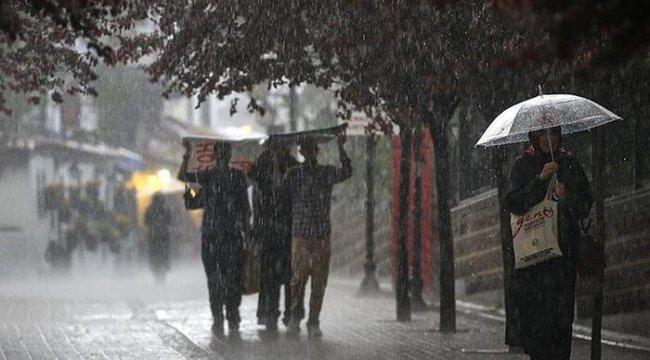 Meteoroloji'den Karadeniz bölgesi için kuvvetli yağış uyarısı