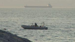 Samatya'da denizde kaybolan genç için bekleyiş sürüyor