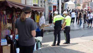 Taksim'de taciz iddiası