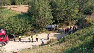 Tarım işçilerini taşıyan minibüs kaza yaptı: 1 ölü, 8 yaralı