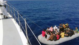 36 düzensiz göçmen kurtarıldı