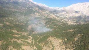 Isparta ' da orman yangını