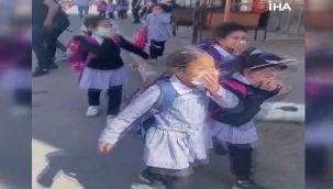 İsrail güçleri okula göz yaşartıcı gaz attı
