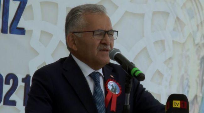 Kayseri'yi başkan uyardı