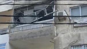 Lübnan'da dişçide jeneratör patladı