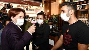 Meral Akşener: Saldırı, hakaret arttıkça bilin ki seçim gitti attaya