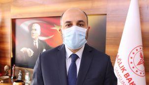 Müdür Oruç: 'Yoğun bakımda yatan hastalarda son 2 ayda yüzde 50 artış mevcut'