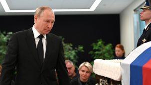 Rusya Devlet Başkanı Vladimir Putin, Moskova'da yapılan veda törenine katıldı