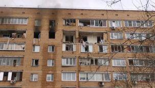 Rusya'nın başkentinde doğal gaz patlaması
