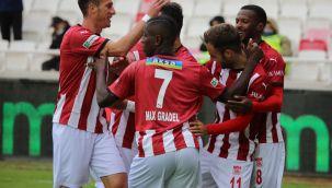 Sivasspor'un yenilmezlik serisi 5 maça çıktı