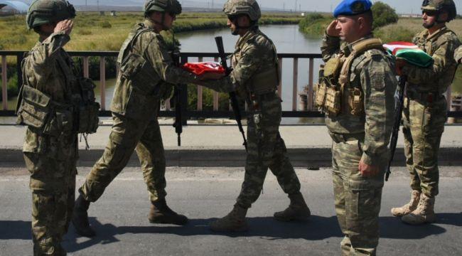 Türk askeri 'Sarsılmaz Kardeşlik 2021 Tatbikatı' için Nahçıvan'da