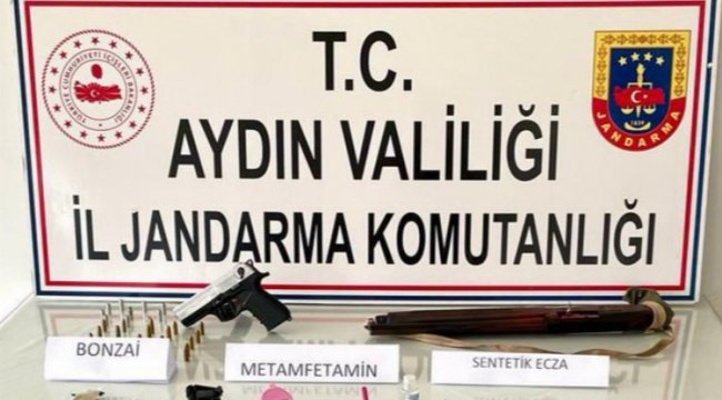Aydın ve Muğla'da uyuşturucu operasyonu