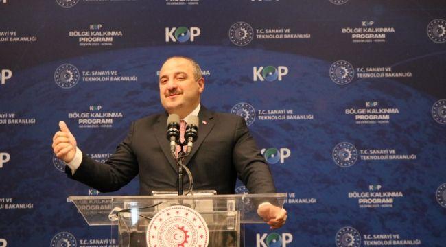 """Bakan Varank, """"Kapsamlı kalkınma politikalarıyla geleceğimizi şekillendiriyoruz"""""""