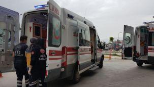 Bayburt'ta üniversite öğrencileri arasında bıçaklı kavga