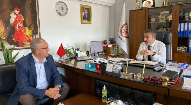 CHP'Lİ SERTEL'DEN ANKARA İTFAİYESİNE ZİYARET