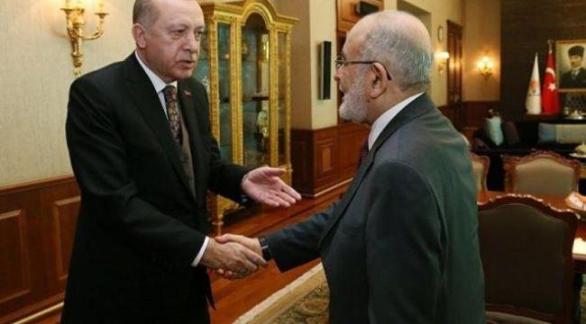 Cumhurbaşkanı Erdoğan, Temel Karamollaoğlu ile bir araya geliyor