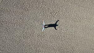 Hamzabey Barajı çöle döndü