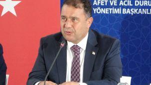KKTC Başbakanı Ersan Saner istifasını sundu