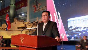 Kuzey Kore lideri Kim'den ABD'ye gözdağı